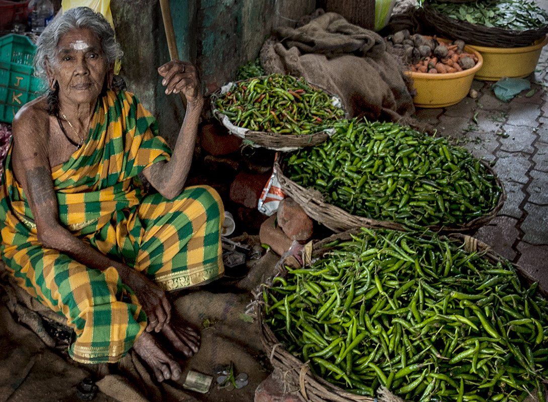 From the Colors of Kerala - Vegetable Markets