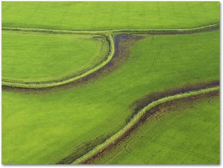 From Aerial Photography - Season of Rice, Aerial Views