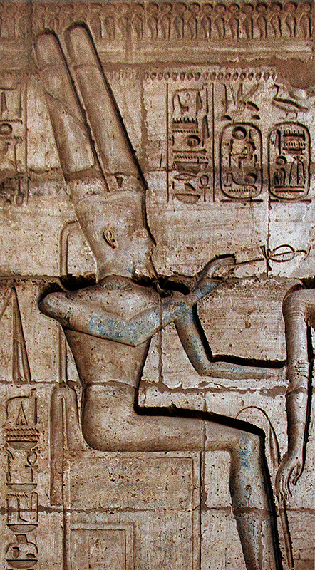 Pharoah with Ankh